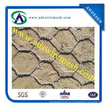 Rede de arame sextavada galvanizada fornecedor de China