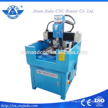 Small 4 axis 4040 cnc ring engraving machine for outside face