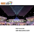 50cm DMX Kinetik Led RGB Ball Işık küreler