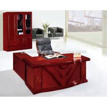 Especificações da mesa executiva de alta tecnologia com mesa lateral