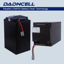 Batterie lithium-ion parallèle modulaire haute sécurité Lifepo4 Li-ion 72V 52Ah pour voiturette de golf