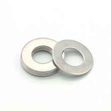 custom stainless steel round butterfly gasket for screw