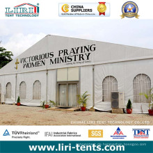 Semi permanente Zeltstruktur für Kirche in Harare