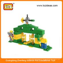 2015 nouveaux jouets en blocs de puzzle de construction en plastique