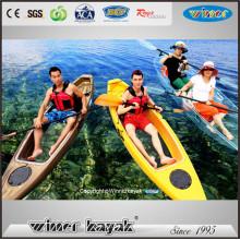 Kayak simple de la pesca de la parte inferior