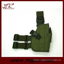 01 tactical Drop Leg pistolet Holster pour étui de pistolet militaire