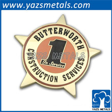 Custom promation enamel safety badges