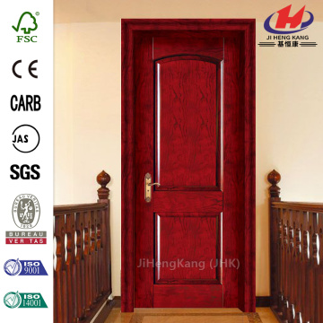 Resistant Africa Teak Wood Finish Interior Door