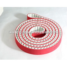 Special Coated Timing Belts with Red Rubber
