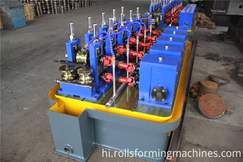welded pipe machine