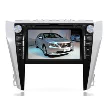 Ajuste de 2DIN coches reproductor de DVD para Toyota Camry 2015 2016 con Radio Bluetooth TV estéreo sistema de navegación GPS