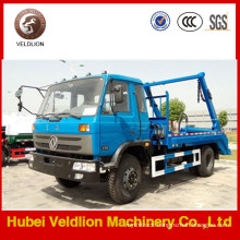 Dongfeng 4X2 Light Duty Swing Arm Garbage Truck on Sale