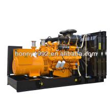 400kW / 500kVA double générateur de carburant Set (Diesel Fuel, Nature Gas)