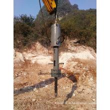 Bagger montiert Hydraulic Rock Splitter