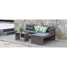 Resin Patio Rattan Wicker Garden Outdoor Furniture Sectional Sofa Set