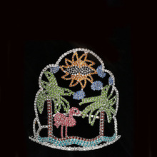 Summer Beach Crane Tiara Rhinestone Wholesale Crown