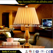 2015 new hot product/ american style crystal table lamp