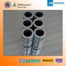 China Wholesale Nickel beschichtete Magnet Runde Magnet Permanentmagnet Wasserpumpe
