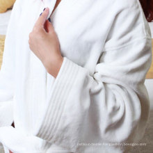 High Quality Soft Cotton Terry Hotel Bathrobe (DPFT8013)