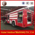 Wassertank-Löschfahrzeug 190HP 6m3 mit Schaum-Behälter 2m3