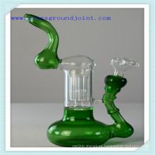Pipa agua vidrio colorido