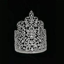 Tiara de 8 pulgadas Miss World Pageant Crown