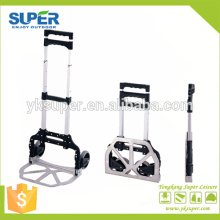 Aluminum foldable hand truck/shopping cart