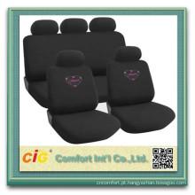 Tampas de assento de carro do preço do competidor mais barato polyeaster