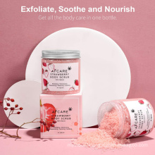 Hot Selling Scalp Massaging Silicone Scalp Brush Scrub Hair Body Care Treatment Shampoo Brush Coco and Rose Miracle Body Scrub