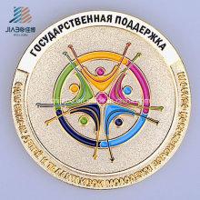 Esmalte modificado para requisitos particulares Moneda conmemorativa de la policía de lado o del recuerdo en metal