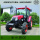 4WD 90 Horsepower Wheel Farm Tractors With Cab
