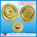 Insignia de encargo del Pin del oro del logotipo Botones