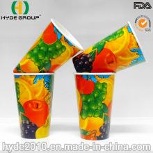 12oz Double PE enduit de gobelet en papier pour boissons gazeuses