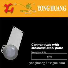 Cannon Type with The Stainless Steel Plate