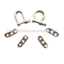 Atacado Durable Boa Qualidade Metal aço inoxidável Shackle Para Paracord