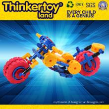 Brinquedo educativo do carro do bloco de edifício para 3+ Crianças