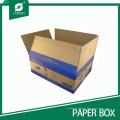Caixa de empacotamento do transporte de Rsc da impressão feita sob encomenda de Flexo