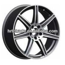 Хромовое черное колесо реплики antera