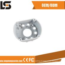Carcaça de alumínio de alta precisão para câmera frontal CCTV Dome Front Cover
