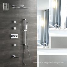 HIDEEP четыре медных функция Ванная комната душ Кран