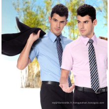 Coton tissé / simple / polyester / chemise / tissu de Shirting