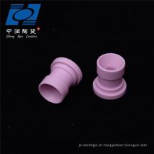 Peças sobresselentes cerâmicas personalizadas da maquinaria de matéria têxtil da alumina