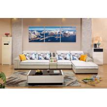 Conjunto de sofá de 7 lugares para mobília de sala de estar