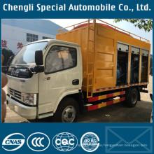 Camión tanque de vacío de pequeña capacidad para limpieza de aguas residuales / tratamiento fecal
