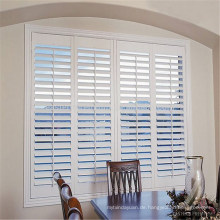 pvc plastic louver shutter fauxwood window shutters
