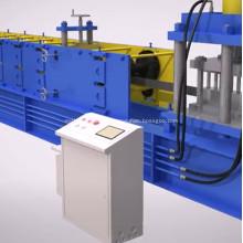 Máquina perfiladora de canal de canal liso galvanizado 41x21