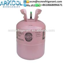 Refrigerant gas r410 price r410a gas air conditioner gas