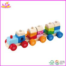 Jouet de train en bois pour enfants (W04A067)