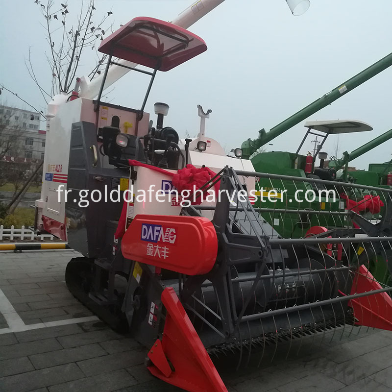 Agriculture equipment rice combine harvester for wheat
