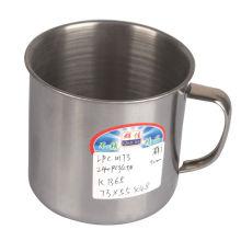 9cm Küchenartikel Edelstahl Cup ohne Deckel